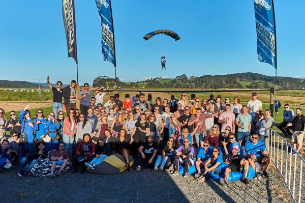 """Auckland Agent Showcase Event - """"The BEST skydive I have ever done..."""""""