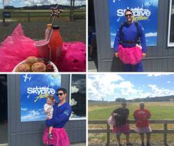 Skydiving Fairies - Raising Money For Ella