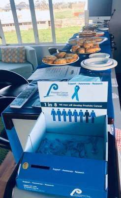Blue Breakfast Success! Skydive Auckland Raising Money for Prostate Cancer