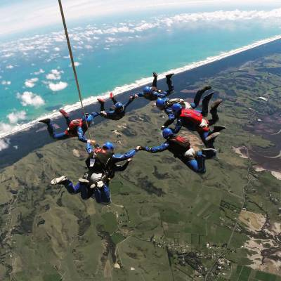New Zealand's Highest Skydive - 20,002ft!