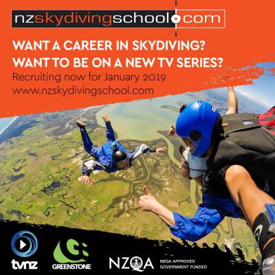 Want to learn to skydive on an exciting new TV series?
