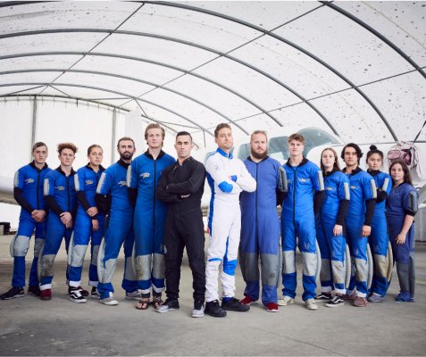 High School - TVNZ series based at Skydive Auckland