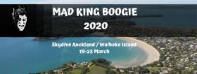 Mad King Boogie at Skydive Auckland and Waiheke Island