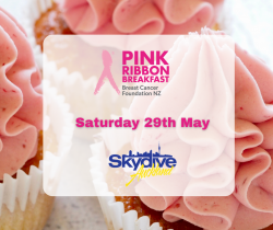 Skydive Auckland - Come To Our Pink Ribbon Breakfast