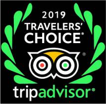 Travellers' Choice 2019 on TripAdvisor